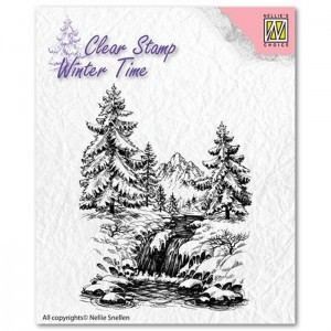 WINTER WATERFALL – stempel Nellie's Choice