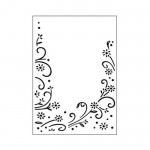 Folder do embossingu Floral Border