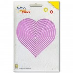Wykrojniki Nellie's Choice Straight Heart MFD060