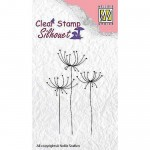 FLOWER 15 Stempel silikonowy Nellie's Choice