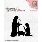 Stempel Nellie's Choice Nativity 2