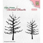 Stempel Nellie's Choice Leafless Trees
