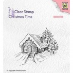 Stempel Nellie's Choice Cosily Snowy Cottage