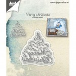 Wykrojnik Merry Christmas Choinka - Joy Crafts