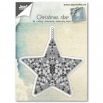 CHRISTMAS STAR Wykrojnik do papieru Joy Crafts