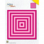 Wykrojnik Nellie's Choice XL-SQUARE STRAIGHT CORNERS
