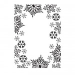 Folder do embossingu Darice Snowflake Trim