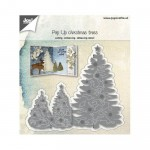 POP UP CHRISTMAS TREES Wykrojnik Joy Crafts