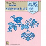 HOLLYBRANCH & BAUBLE & BIRD Wykrojnik Nellie's Choice