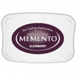 Tusz do stempli Czarny Bez Memento Elderberry