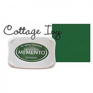 Tusz do stempli Zielony Memento Cottage Ivy