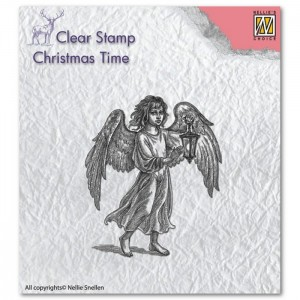 Stempel Niellie's Choice ANGEL WITH LANTERN