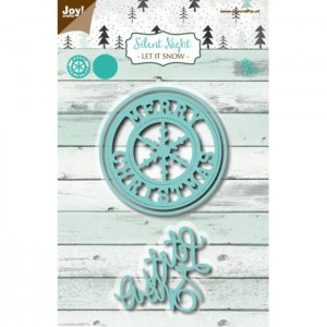 Wykrojnik Napis Let it snow - Joy Crafts