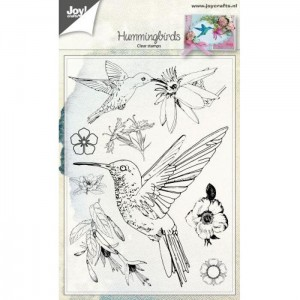 HUMMINGBIRDS Stemple Joy Crafts