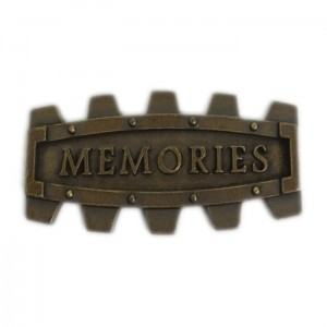 Metalowa ramka 51x24mm MEMORIES 4.9_STE_M