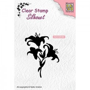 Stempel Nellie's Choice LILIES