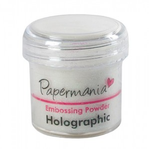 Puder Holograficzny do embossingu 30ml - Papermania