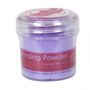 Puder Liliowy do embossingu 30ml - Papermania