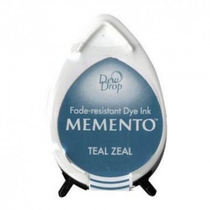 Tusz Turkusowy Memento Dew Drop Teal Zeal