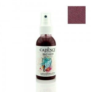 Farba do tkanin Cadence spray Bordo 100ml