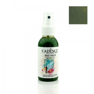 Farba do tkanin Cadence spray Zielony Liść 100ml