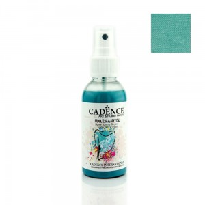 Farba do tkanin Cadence spray Turkus 100ml