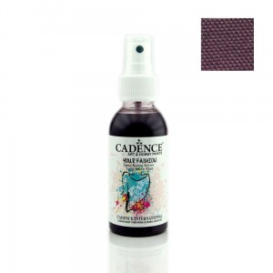 Farba do tkanin Cadence spray Bakłażan 100ml
