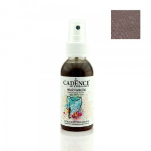 Farba do tkanin Cadence spray Brązowa 100ml