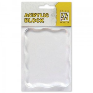 Blok akrylowy do stempli Nellie's Choice 70x90x8mm