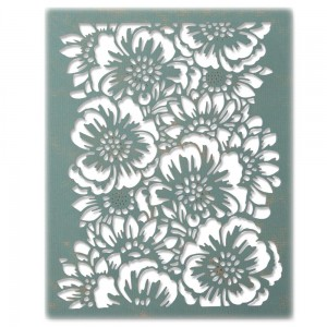 Wykrojniki Thinlits Sizzix Bouquet Tim Holtz