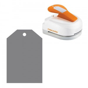 Dziurkacz do wycinania etykiet 3w1 Fiskars Simple
