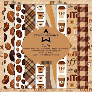 Papiery 15x15cm Dixi Craft Coffee