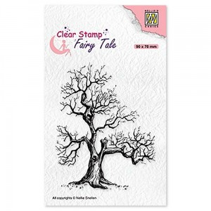 Stempel Nellie's Choice Elves Tree