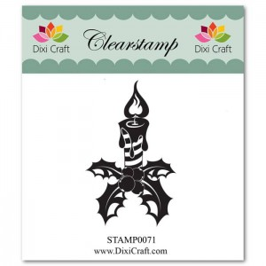 Stemple clearstamp Dixi Craft CANDLE