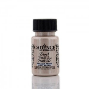 Farba Dora Metalik Cadence LIGHT BROWN 50ml