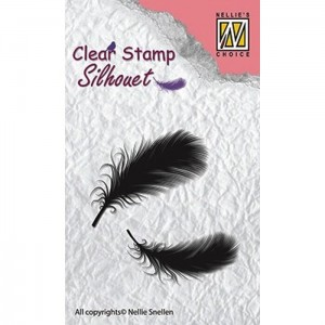 Stempel Nellie's Choice FEATHERS