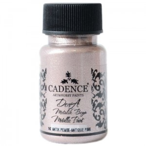 Farba Dora Metalik Cadence ANTIQUE PINK 50ml