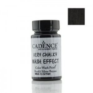 Farba kredowa Cadence Wash Effect BLACK 90ml