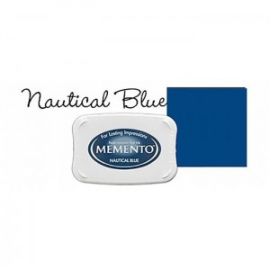 Tusz do stempli Morski Memento Nautical Blue