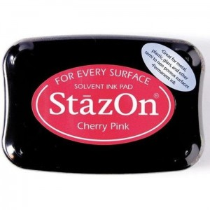 Tusz do stempli StazOn CHERRY PINK
