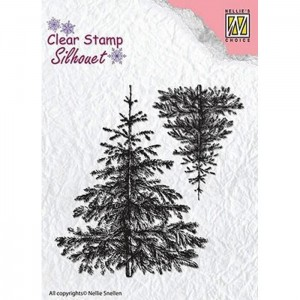 Stempel Nellie's Choice CHRISTMAS FIR-TREE