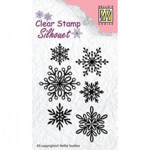 Stempel Nellie's Choice SNOWFLAKES