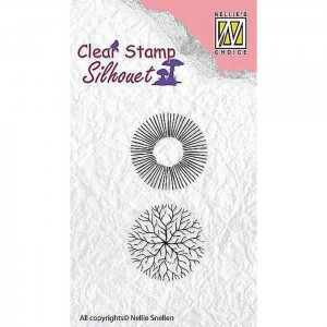 FLOWER 17 Stempel silikonowy Nellie's Choice