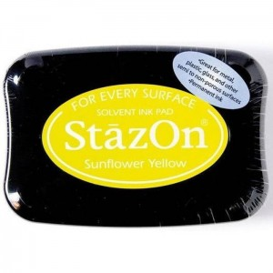 Tusz do stempli StazOn SUNFLOWER YELLOW