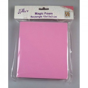 Magic foam Nellie's Choice RECTANGLE 15x13x3 cm