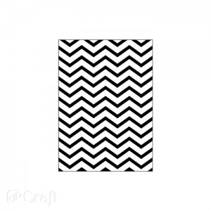 Folder do embossingu 2D Chevron 13x18cm