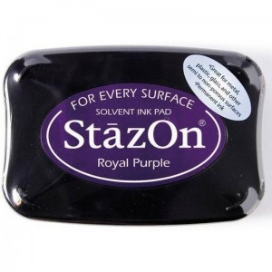 Tusz do stempli StazOn ROYAL PURPLE