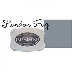 Tusz do stempli Popielaty Memento London Fog