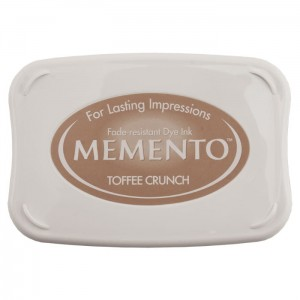 Tusz do stempli Karmalowy Memento Toffee Crunch