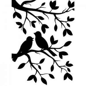 Folder do embossingu Darice Birds In Branches